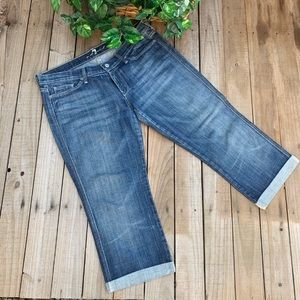 7 for all mankind Colette cropped jeans